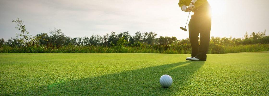 Photo of golfer