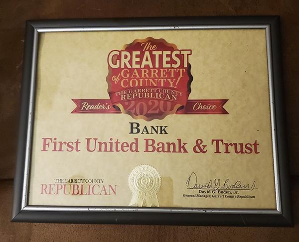 Garrett Greatest - Readers Choice Award Plaque