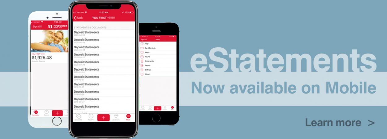 eStatements Now Available on Mobile
