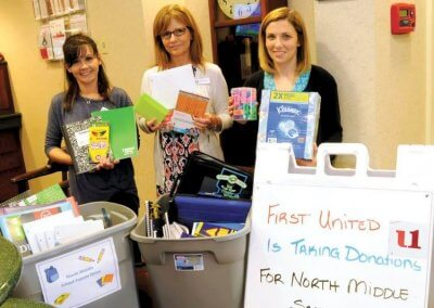 Photo of Community Donations by First United Associates
