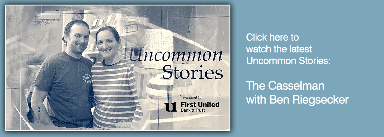 Click to listen to the latest Uncommon Story - The Casselman